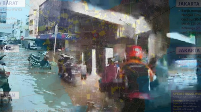 Empat Kecamatan di Wilayah Jakarta Selatan Dilanda Banjir