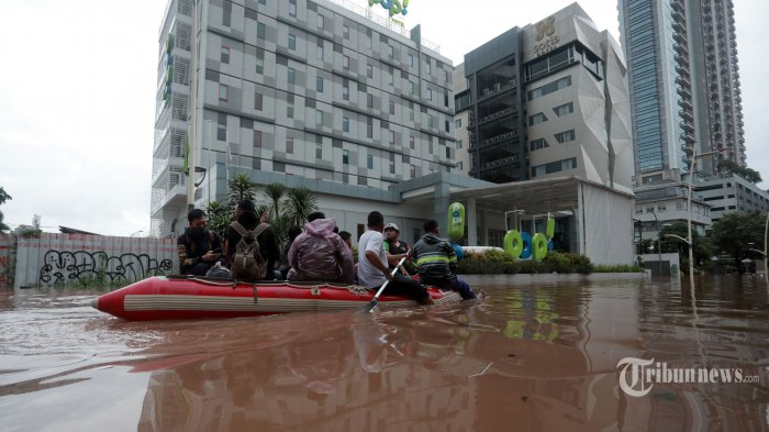 LAPAN: Waspada Jadetabek Hujan Lebat Mulai Sabtu Malam Ini Pukul 10 hingga Dini Hari