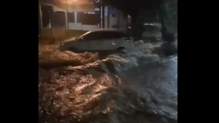 Diguyur Hujan Deras, Sejumlah Wilayah di Jakarta Terendam Banjir Pada Sabtu Pagi