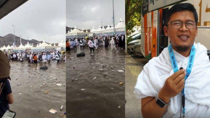 Viral Video Mina Diterjang Banjir, Aa Gym Pastikan Kabar Itu Hoaks dan Sebut Kondisi Jemaahnya Baik