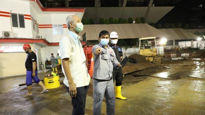 Langsung Surut, Banjir di Kantor Gubernur Jateng Hanya 1,5 Jam