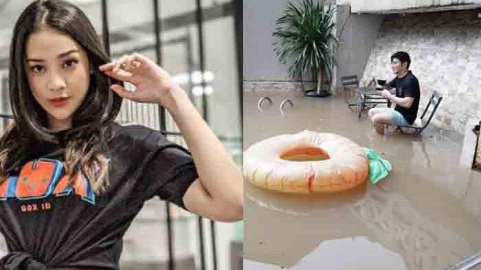 6 Artis yang Jadi Korban Banjir Jabodetabek: Nicky Tirta Tampak Menikmati, Irish Bella Pilih Ngungsi