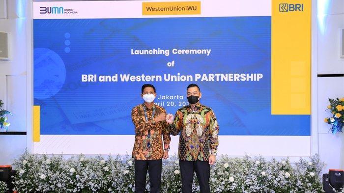 Permudah Transaksi Remitansi, BRI Jalin Kerja Sama dengan Western Union