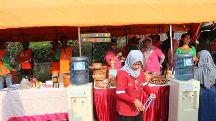 Bank Sampah yang dikelola relawan SAMTAMA.