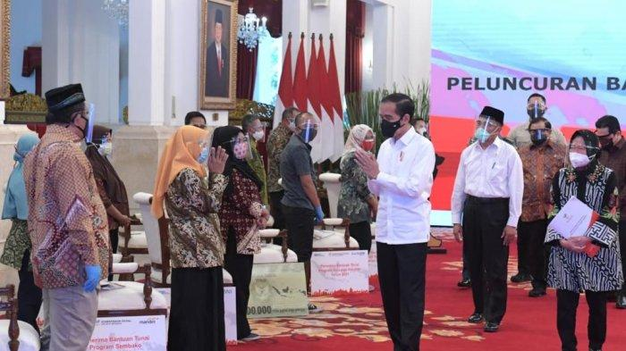 Luncurkan Bantuan Tunai Se-Indonesia 2021, Presiden Sampaikan Dua Pesan Penting