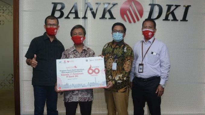 Dorong Purnabakti Tetap Produktif, Bank DKI Berikan Modal Usaha UMKM
