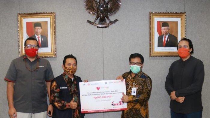 Bantu Korban Bencana Alam, Bank DKI Galang Donasi Via Pindai Kode QR
