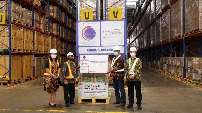 Dunia Usaha Kirim 200 Unit Konsentrator Oksigen
