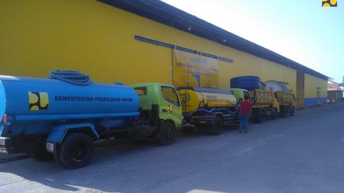 Kementerian PUPR Kirimkan Alat Berat, Peralatan Air Bersih dan Sanitasi ke Donggala-Palu