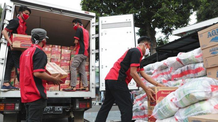 Masih Ada Hambatan di Jalur Distribusi, Penyaluran Bantuan Korban Bencana Gandeng Paskhas TNI AU