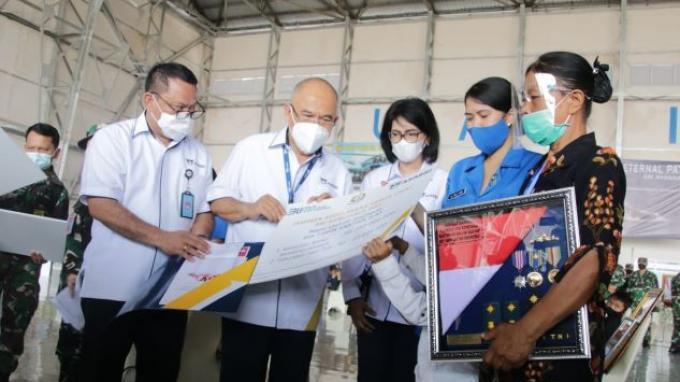 Asabri Serahkan Santunan Rp 20,785 Miliar ke Keluarga Korban KRI Nanggala 402