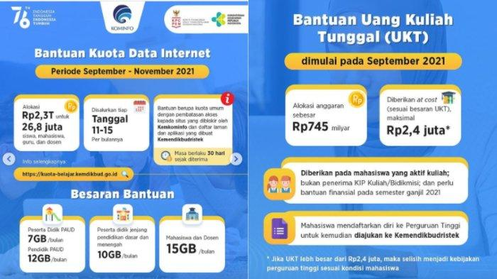 Bantuan Kuota Internet dan UKT