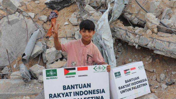 NU Care-LAZISNU Kembali Salurkan Bantuan dari Rakyat Indonesia untuk Palestina