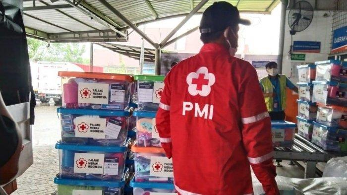 PMI Kirim Tangki Air Bersih ke Lokasi Terdampak Bencana Gempa Sulbar
