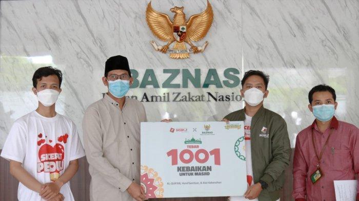 Ramadan Segera Tiba, 200 Masjid di Jabodetabek Terima Bantuan Perlengkapan Lewat Baznas