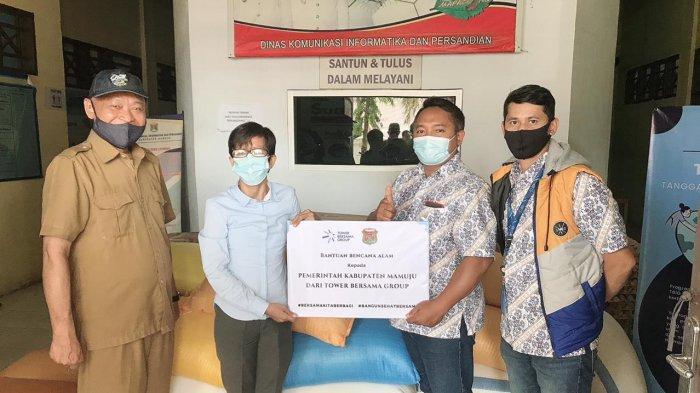 TBIG Salurkan Kebutuhan Sembako ke Korban Gempa Mamuju dan Majene