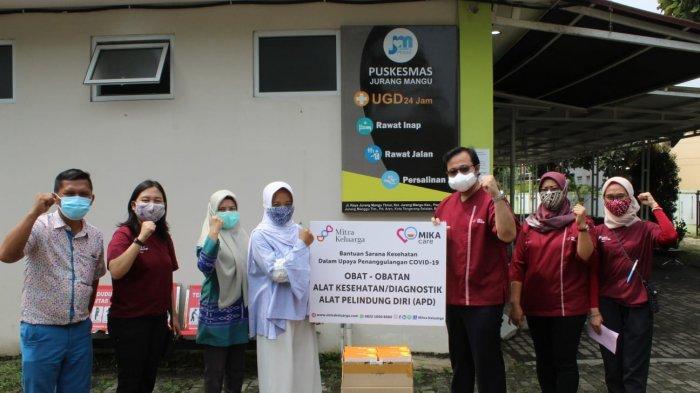 Bantuan Ribuan Obat dan Alat Kesehatan untuk Puskesmas di Tangerang Selatan