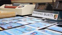 Pemalsu KTP Elektronik Ditangkap, Polres Tanjung Priok Sita Alat Laminating dan Alat Potong