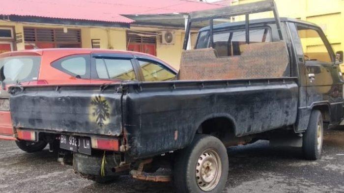 Oknum Polisi di Sarolangun Jambi Curi Mobil L300