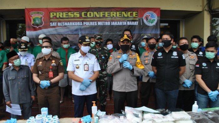 Dimusnahkan Puluhan Ribu Kilogram Narkoba Siap Pakai Selama Masa Pandemi Corona