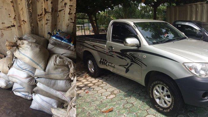 Polisi Sita 1413 Kilogram Pasir Timah dari Tempilang, Pemodal dan Pembeli Jadi Tersangka