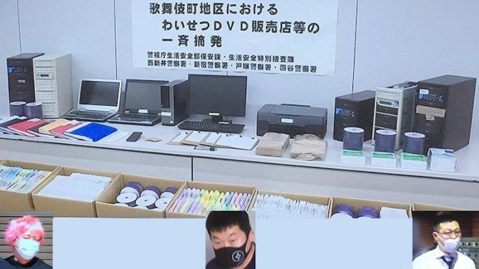 6 Tersangka Ditangkap Polisi Jepang karena Edarkan DVD Porno