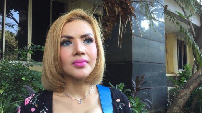 Barbie Kumalasari saat ditemui di Polda Metro Jaya Jakarta Selatan, Rabu (21/8/2019).