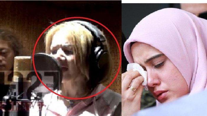 Barbie Kumalasari pamer suara nyanyi lagu Cinta Sejati (kiri)