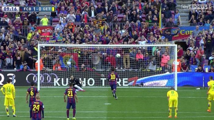 Barcelona Dapat Hadiah Penalti di Musim ini 19 Kali