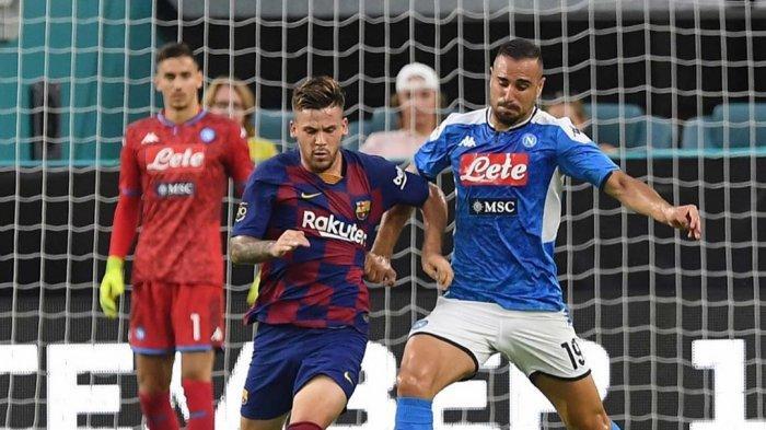 Jelang Lawan Barcelona di Liga Champions, Bos Napoli Khawatir dengan Kondisi Catalan