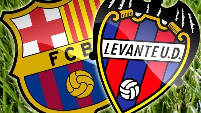 Live Score Siaran Langsung SCTV Barcelona Vs Levante Liga Spanyol, Skor 0-0 Dibabak Pertama