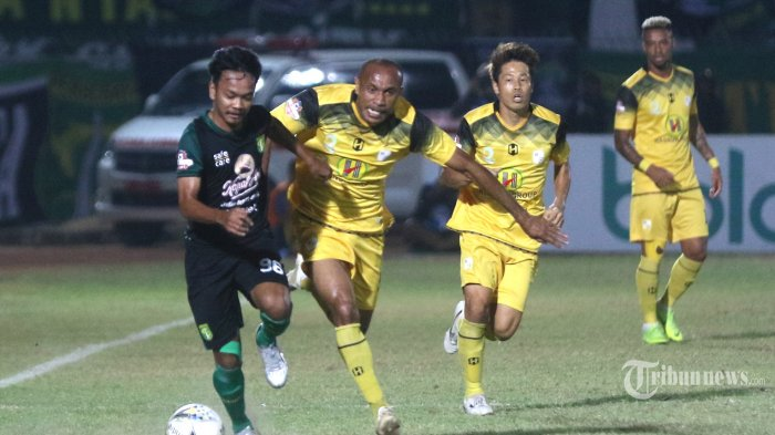 Live Streaming TV Online Barito Putera vs PSS Sleman Liga 1, via Vidio.com, Ini Susunan Pemainnya