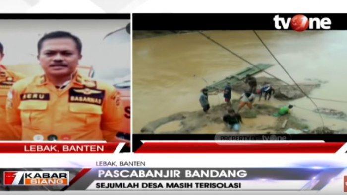 Banjir Bandang di Lebak, Basarnas Masih Lakukan Evakuasi, Sejumlah Desa Terisolir