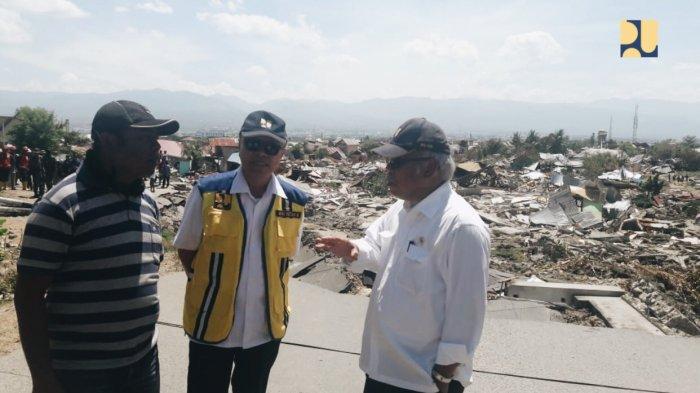 Kementerian PUPR Akan Bangun Hunian Sementara Warga Petobo dan Balaroa