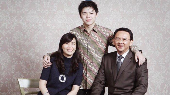 Basuki Tjahaja Purnama, Veronica Tan bersama anak keduanya, Nicholas Sean Purnama