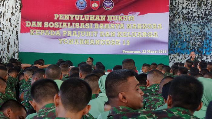 Batalyon Arhanudse 15 Semarang Libatkan Istri Cegah Prajurit Terlibat Narkoba - batalyon-15-arhanudse-semarang_20160322_124356.jpg