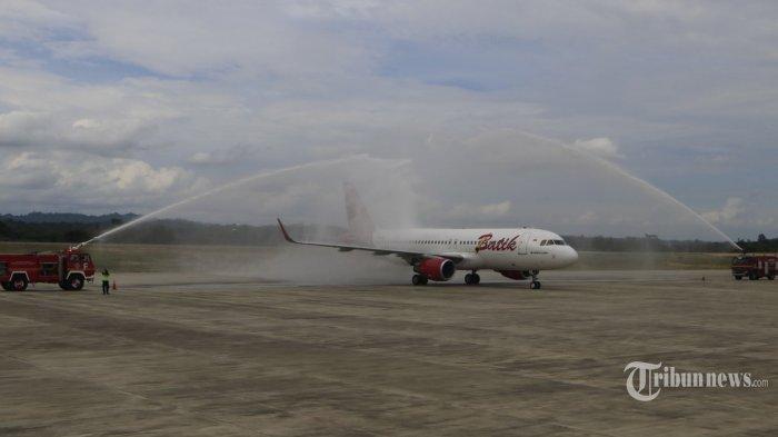 Batik Air Gagal Take Off Tergelincir di Bandara Husein, Mau Terbang ke Kualalumpur