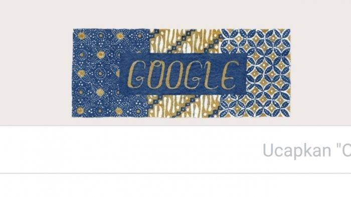 Batik di google doodle