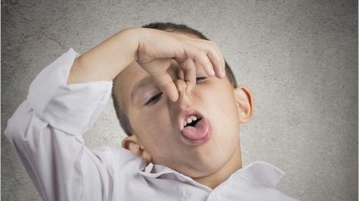 Ilustrasi bau mulut pada anak