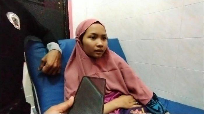 Bau Syarifah (24), pendaki hilang di Gunung Abbo selama tiga hari ditemukan selamat di celah tebing.