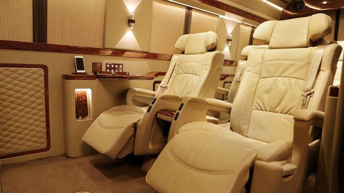 Ingin Van Sprinter dengan Interior Mewah Ala Premium Class Ini? Cukup Siapkan Dana Rp 2,12 Miliar