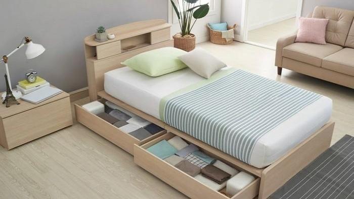 Ide Dekorasi Manfaatkan Ruang Kosong di Bawah Tempat Tidur