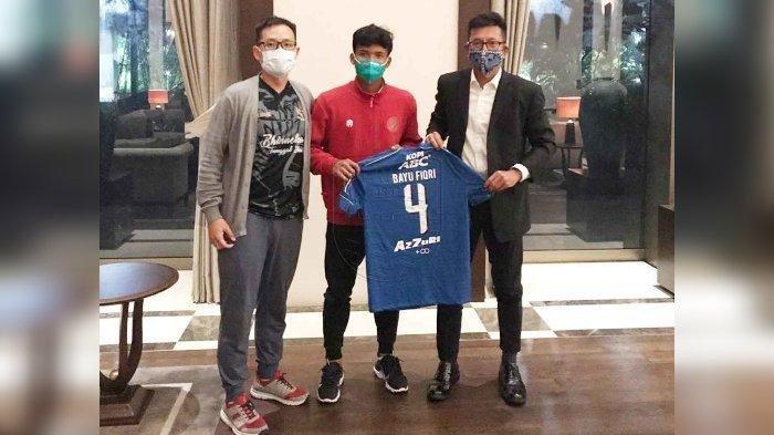 Bayu M Fiqri Merasa Senang Sudah Bisa Ikut Berlatih Bersama Tim Persib Bandung