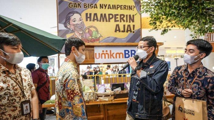 Lewat Bazaar #GakMudikDibikinAsik, Menparekraf Ajak Masyarakat Belanja Produk Lokal