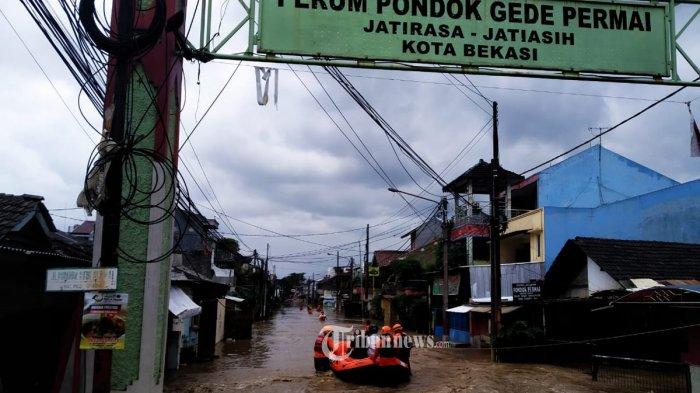 BPBD Kota Bekasi: Ada 57 Titik Banjir, Paling Banyak di Bekasi Barat