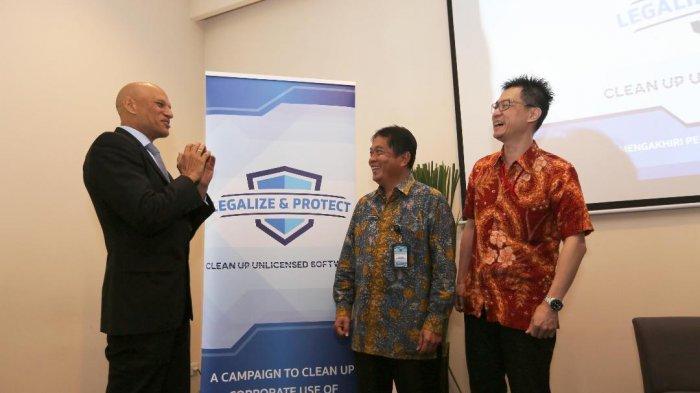 Kampanye Clean Up to the Countdown untuk melegalisasi Aset Software Perusahaan di Indonesia