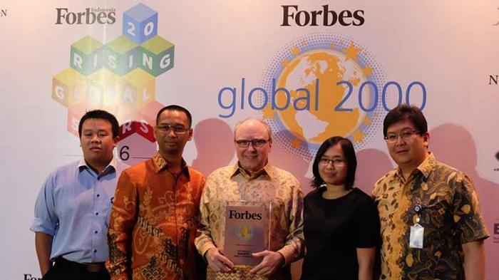 Naik 10 Peringkat, BCA Kembali Raih Forbes Global 2000 Awards Tahun Ini