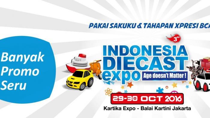 Keseruan Bersama Tahapan Xpresi BCA Di Indonesia Diecast Expo 2016