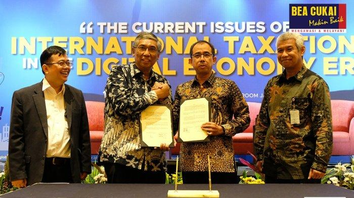Bea Cukai Rangkul Akuntan Indonesia Tangani Proses Bisnis Lintas Negara