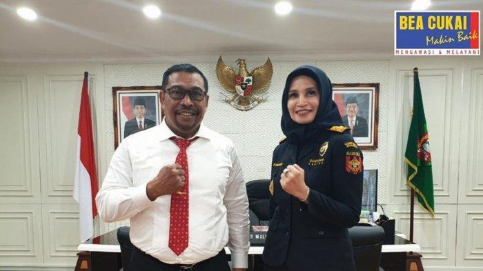 Bea Cukai Kunjungi Gubernur Maluku, Apa Saja yang Dibahas?